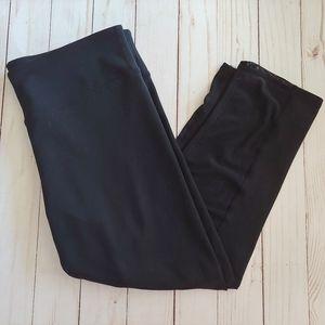 Fabletics Black Zoey Capri Mesh leggings M